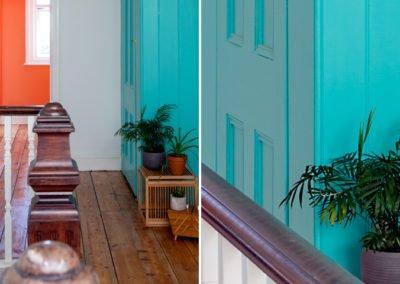 Colour Pop Hallway, Cliftonville