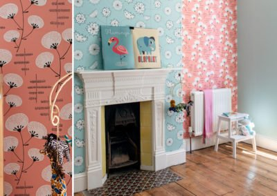 Colour Pop Bedroom, Cliftonville