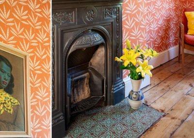 Colour Pop Guest Bedroom, Cliftonville